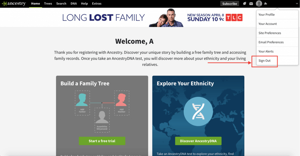 Ancestry DNA login