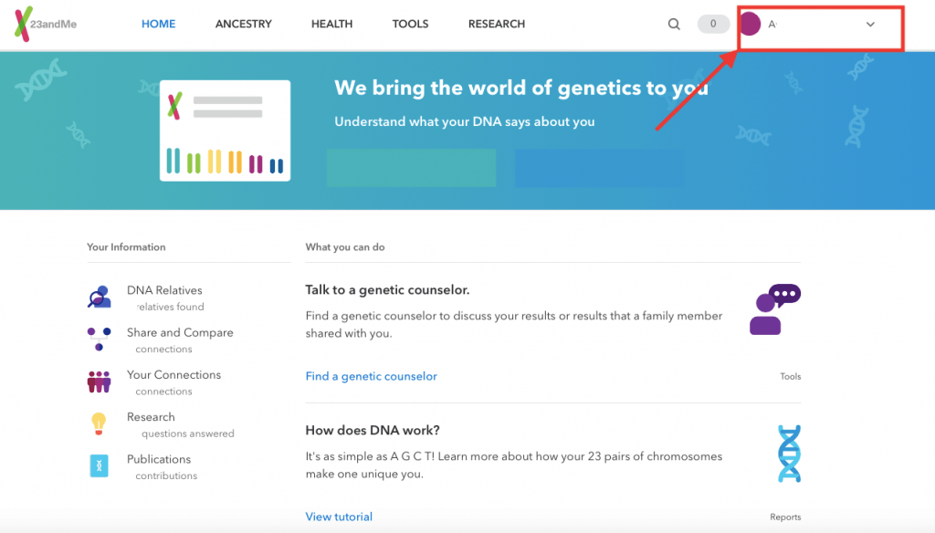 23andMe Login: How Do I Login To My 23andMe Account?