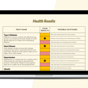 Xcode DNA raw data analysis for health report