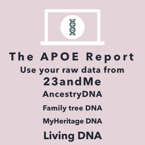 23andMe Alzheimer's DNA raw data analysis