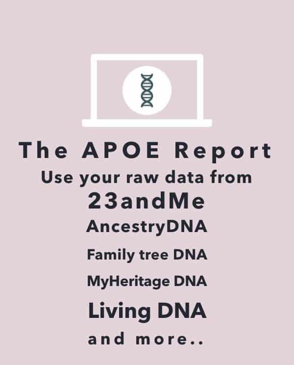 23andMe Alzheimer's DNA raw data analysis